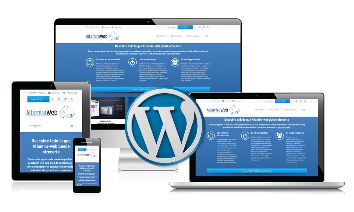 wordpress-weboldal-karbantartas